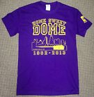 MINNESOTA VIKES HOME SWEET DOME TSHIRT 1982-2013 METRODOME CUSTOM SLOGAN ON BACK
