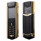 Luxury K9 Bluetooth Dual Sim Mobile phone Stainless Metal Camera FM Cell Phone