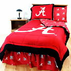 Alabama Crimson Tide Comforter Sham Curtains & Valance Twin Full Queen CC