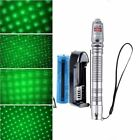532nm 10 Mile 5mw 303 Green Laser Pointer Lazer Pen Beam Light +18650+Charger EO