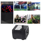 Submersible Water Pump Aquarium Pond Fish Tank Powerhead Fountain Hydroponic
