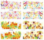 Top Nail 1 Sheet Nail Art Multi-Color Decal Transfer Water Sticker Decor 180-183