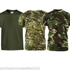 KIDS ARMY T-SHIRT BOYS HILLWALKING AIRSOFT SHOOTING HUNTING HIKING CLOTHING