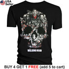 The Walking Dead T-Shirt Negan Lucille Saviors AMC TWD Glenn Rick Daryl Michonne