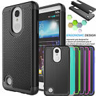Armor Shockproof Hybrid Rugged Rubber Silcone Hard Case Cover For LG Aristo