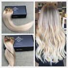 Ombre Balayage Remy Clip in Hair Extensions Best Clip On Extensions Human Hair