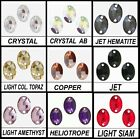 OVAL SHAPE 3210 SEW ON SWAROVSKI RHINESTONE JEWELS