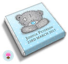 Personalised TATTY TEDDY Bear Baby Shower Christening Party Favour Chocolates