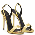 Womens Ladies Open Toe Strappy High Heel Sandals Stiletto Party Heels Large Size