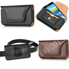 Luxury Wallet Case Carry Waist Pouch Bag Leather Card Clip Belt Holster Cover