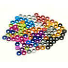 10 Pcs M3 Size Gaskets Pads For Crawler SCX10 1/10 RC Crawler Car 11colors