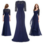 Elegant Women Long Evening Formal Party Dress Ball Gown Prom Dresses Size 4-18