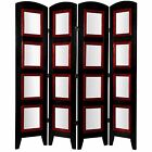 Oriental Furniture 6x5 Indoor Ft 4-Panel Photo Frame Fold...