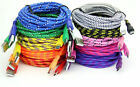 Braided Fabric Micro Usb Data Sync Charger CableFor Samsung HTC Table PDA HUAWEI