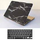 "Rubberized Marble Painting Hard Case+KB For Macbook Pro Air 11 13""15"" Retina 12"""