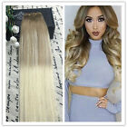 New Ombre Balayage hair weave,weft HUMAN HAIR EXTENSIONS Ash Brown Blonde 100g