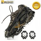 Weanas 12-Teeth Ice Snow Anti Slip Shoes Crampons Traction Spikes Chain Cleats