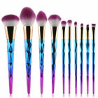 10PCS Kabuki Make up Brushes Set Makeup Foundation Blusher Face Powder Brush <br/> Higher Quality!Soft Hair!UK Fast Delivery!