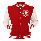 Wales Varsity Jacket Welsh Rugby College Letterman Coat Sport Womens Mens Top T