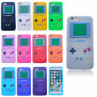 3D Game Boy Gameboy Silicone Back Case Skin Cover for iPhone 5/5S 6/6s 7 Plus
