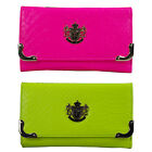 LYDC Ladies UV Snake Designer Faux Leather Clutch/Purse/Wallet L(003YG)