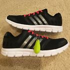 **NEW**ADIDAS RUNNING WOMEN\'S SHOES SIZE 6.5 7.5 9 BLACK/SILVER/PINK