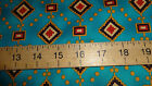 1/2 MTR MICHAEL MILLER NATIVE AMERICAN COTTON QUILTING FABRIC BARGAIN PRICE
