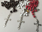 Wooden Rosary Beads Rosary Necklace Catholic Prayer Beads made from Wood RB1