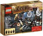 LEGO the Hobbit 298pc set 79001 Escape from Mirkwood spiders Legolas Greenleaf