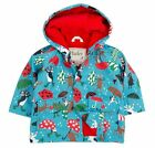 Hatley Boys Blue Raining Dogs Waterproof Raincoat Hooded Jacket Coat 6-12mths