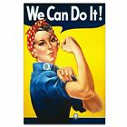 "We Can Do It !  World War 2 Propaganda ""Rosie The Riveter"" Poster A3 Size"