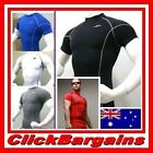 MENS BASE UNDER LAYER SPORTS WEAR COMPRESSION SHORT SLEEVE SHIRT TOP TAKE FIVE 5