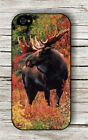 MOOSE AMERICAN KING OF WILDE LIFE AUTUMNAL SEASON CASE FOR iPHONE 4 5 5C 6 -gvc3