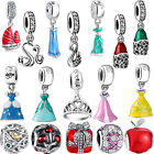 New European Charms CZ Pendant Bead For Sterling 925 Silver Bracelet Chain Ring