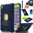 Shockproof Heavy Duty Rubber With Hard Stand Case Cover For Apple iPad Pro Mini