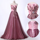 2017 Retro Long Prom Party Wedding Bride Ball Gown Formal Cocktail Evening Dress