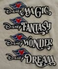 DISNEY CRUISE Die Cut Title - Magic Wonder Fantasy Dream Scrapbook Piece SSFFDeb
