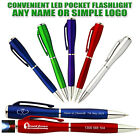 High Quality Classical Design Custom Engraved Logo Printed LED Light Stylus Pen