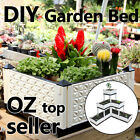 DIY Garden Bed Grow Pot Tray Decking Garden Organic Food Auto Water light weight