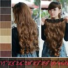 how to ombre red hair - 100% as remy human Hair Long Full Head Clip in on Hair Extensions Thick 145g