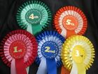 2 Tier - 1st to 5th Chunky Numbers rosettes