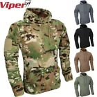 VIPER TACTICAL FLEECE HOODIE MENS S-3XL THERMAL TOP ARMY MTP VCAM PAINTBALLING