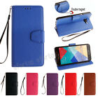 Fashion Book Style Flip Magnetic  Wallet PU Leather Cover Case For Samsung HF
