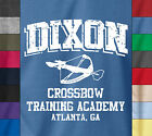 DARYL DIXON CROSSBOW TRAINING 100% Ringspun Cotton T-Shirt The Walking Dead Tee