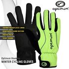 Optimum Sports Full Finger Insulated Autumn Winter Cycling Bike Bicycle Glove