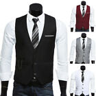 Mens Motorbike Hide Touring Blazer Vest Coat Jacket Waistcoat For Suit Tuxedo;