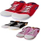 Unisex Mens Womens Chuck Taylor Converze Style Novelty Slippers Shoes UK 2-12