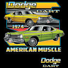 Dodge Dart 1974 American Muscle Mopar Plymouth Chrysler Sport T Shirt Small-5XL $12.56 USD on eBay