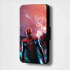 SPIDERMAN GALAXY FLIP PHONE CASE COVER WALLET (FITS ALL MODELS)