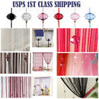 Kyпить Beauty String Tassel Curtain Crystal Beads Door Window Panel Room Divider Decor на еВаy.соm
